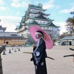 戦国武将隊が名古屋城オンラインツアーを実施