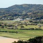 弥生時代の遺跡を復元した「原の辻一支国復元公園」=長崎県壱岐市