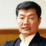 チベット亡命政府のロブサン・センゲ首相
