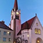 ウィーン市16区のカトリック教会(2021年4月、ウィーンで撮影)