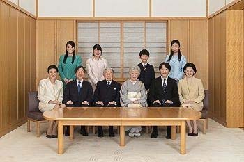 日本の天皇閣下ご家族の写真(宮内庁公式サイトから)