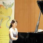 臓器移植の啓発コンサートで演奏する西本さん=1月23日、東京・原宿(辻本奈緒子撮影)