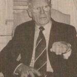 世界日報に掲載されたハンス・キュング氏との単独会見(2000年12月、ウィ―ンのホテルにて、撮影)
