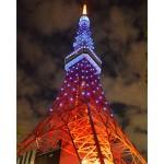世界自閉症啓発デー、東京タワーがブルーに-4eye