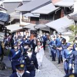 聖火リレーが岐阜県を巡る、週末の混雑を警戒