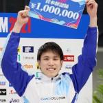 松元克央、200m自由形日本新で五輪切符獲得