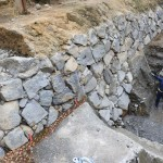 最古の江戸城の石垣か? 当時の姿をとどめる