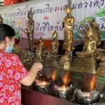 タイの水掛け祭り、感染対策で静かに再開