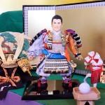 歴史的快挙を達成、松山英樹選手が五月人形に