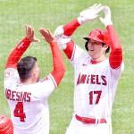 エンゼルスの大谷翔平、日米通算で100本塁打