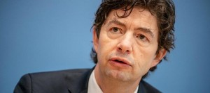 ドイツの代表的ウイルス学者ドロステン教授(2021年3月17日付の独紙フランクフルター・アルゲマイネ・ツァイトゥングから)