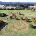 世界文化遺産への登録が勧告された青森市の三内丸山遺跡=JOMON ARCHIVES(縄文遺跡群世界遺産保存用協議会撮影)