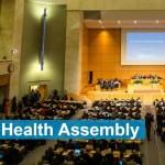 世界保健総会風景(WHO公式サイトから)