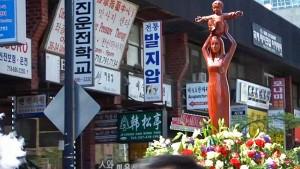中国上海の「余山の聖母像」(バチカンニュース2021年5月23日から
