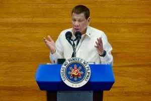 フィリピンのドゥテルテ大統領=2020年7月、マニラ(比大統領府提供・AFP時事)