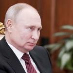 ロシアのプーチン大統領=3月24日、モスクワ(AFP時事)