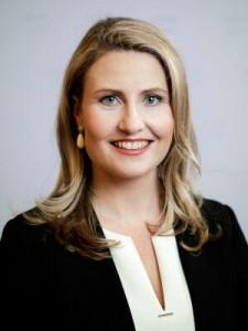 フェミサイド対策を訴えるラーブ女性問題担当相(オーストリア連邦首相府公式サイトから)