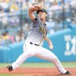 阪神の伊藤将司が好投、誕生日を白星で飾る