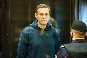 ロシアの反体制派指導者アレクセイ・ナワリヌイ氏=2月2日、モスクワ(AFP時事)
