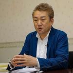 オンラインで行われた世日クラブの定期講演会で講演する八木秀次氏 19日、千葉県市川市のメディアセンター