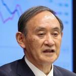 9都道府県への緊急事態宣言などの延長を決め、記者会見する菅義偉首相=28日午後、首相官邸