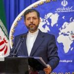 イラン外務省報道官「IAEAとの間で核問題の協力で何も決定していない」と語る(2021年6月28日、IRNA通信)