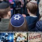 ユダヤ人男性のアイデンティティ、キッパ―(反ユダヤ主義の拡大を警告する欧州連合の欧州基本権機関(FRA)公式サイトから)