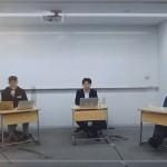 オンライン授業の現状と課題などを語り合う