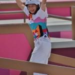 スケートボード女子ストリートで金メダルを獲得した西矢椛