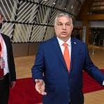 児童保護関連の法改正を弁護するオルバン首相(2021年7月23日、ハンガリー国営通信)