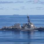 バイデン米政権の国防予算で調達数が前年度の2隻から1隻に削減されたアーレイ・バーク級イージス駆逐艦(米海軍提供)