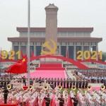 習近平主席「歴史と人民は中国共産党を選んだ」(2021年7月1日、人民網日本語版サイトから)