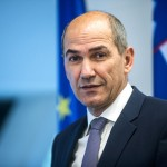 EU下半期の議長国スロベニアのヤンシャ首相(スロベニア首相府公式サイトから)