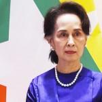 ミャンマーのアウン・サン・スー・チー氏=2020年1月、ネピドー(AFP時事)