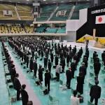 「全国戦没者追悼式」でお言葉を述べられる天皇陛下 =2021年8月15日午後、千代田区の日本武道館