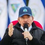 中米ニカラグアのオルテガ大統領=2020年7月、マナグア(AFP時事)