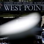 2020年6月13日、米ニューヨーク州ウェストポイントの陸軍士官学校の卒業式(UPI)