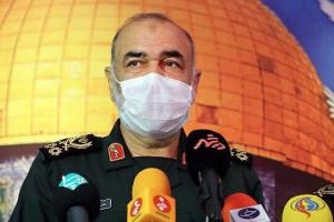 「わが国は如何なるシナリオにも応じる用意がある」と語るイスラム革命防衛隊(IRGC)のホセイン・サラミ司令官(2021年8月4日、IRNA通信)