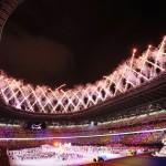 東京パラリンピックの閉会式=5日、国立競技場