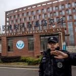 中国・武漢の武漢ウイルス研究所=1月27日(EPA時事)