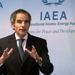国際原子力機関(IAEA)のグロッシ事務局長(AFP時事)