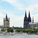 ▲ケルン市のシンボル、ケルン大聖堂が見える風景(バチカンニュース独語版10月16日から)