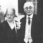 新渡戸稲造と妻メアリー(Wikipediaより)