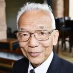 ノーベル物理学賞に決まった米プリンストン大の真鍋淑郎上席研究員=2018年5月21日、スウェーデン(AFP時事)