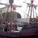 サンタ・マリア号(レプリカ)-スペイン・マディラのフルカル港にて(Wikipediaより-Dietrich Bartel - 投稿者自身による作品)