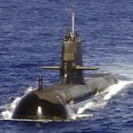 ▲オーストラリア海軍が保有するコリンズ級潜水艦(ウィキぺディアから)