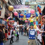 蘭桂坊カーニバルでは80以上の露店が出店