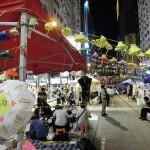 銅鑼湾(コーズウェイベイ)の占拠デモ現場