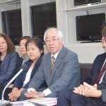 普天間移設問題 宜野湾市民訴訟の初公判