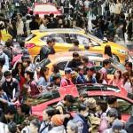 東京モーターショー、一般公開で大にぎわい
